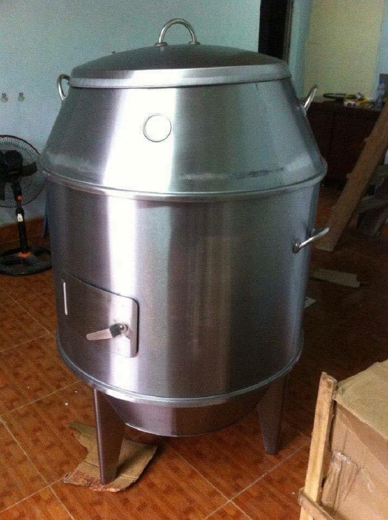 Bảo quản lò quay gà vịt dùng than