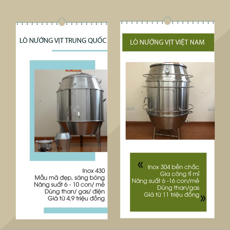 Lò nướng vịt Trung Quốc VS Lò nướng vịt Việt Nam-01