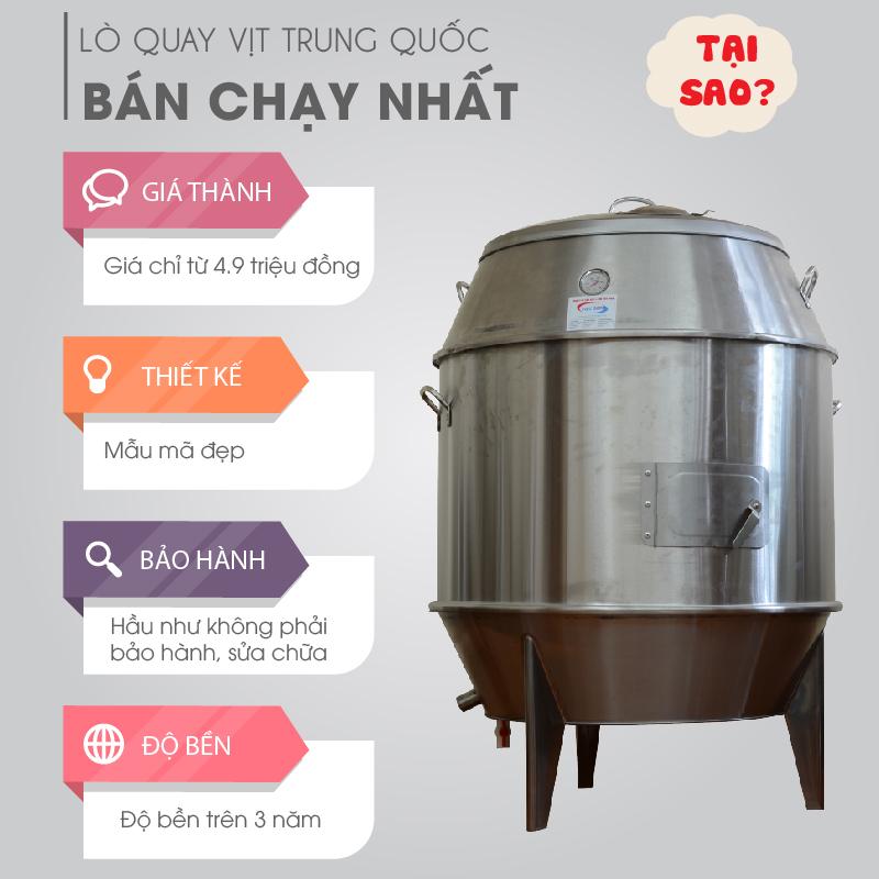 Lò quay vịt Trung Quốc BÁN CHẠY NHẤT-01