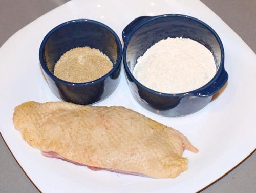 Cách làm món vịt chiên tẩm vừng bằng bếp chiên
