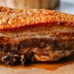 Cách làm thịt heo quay giòn bằng lò nướng