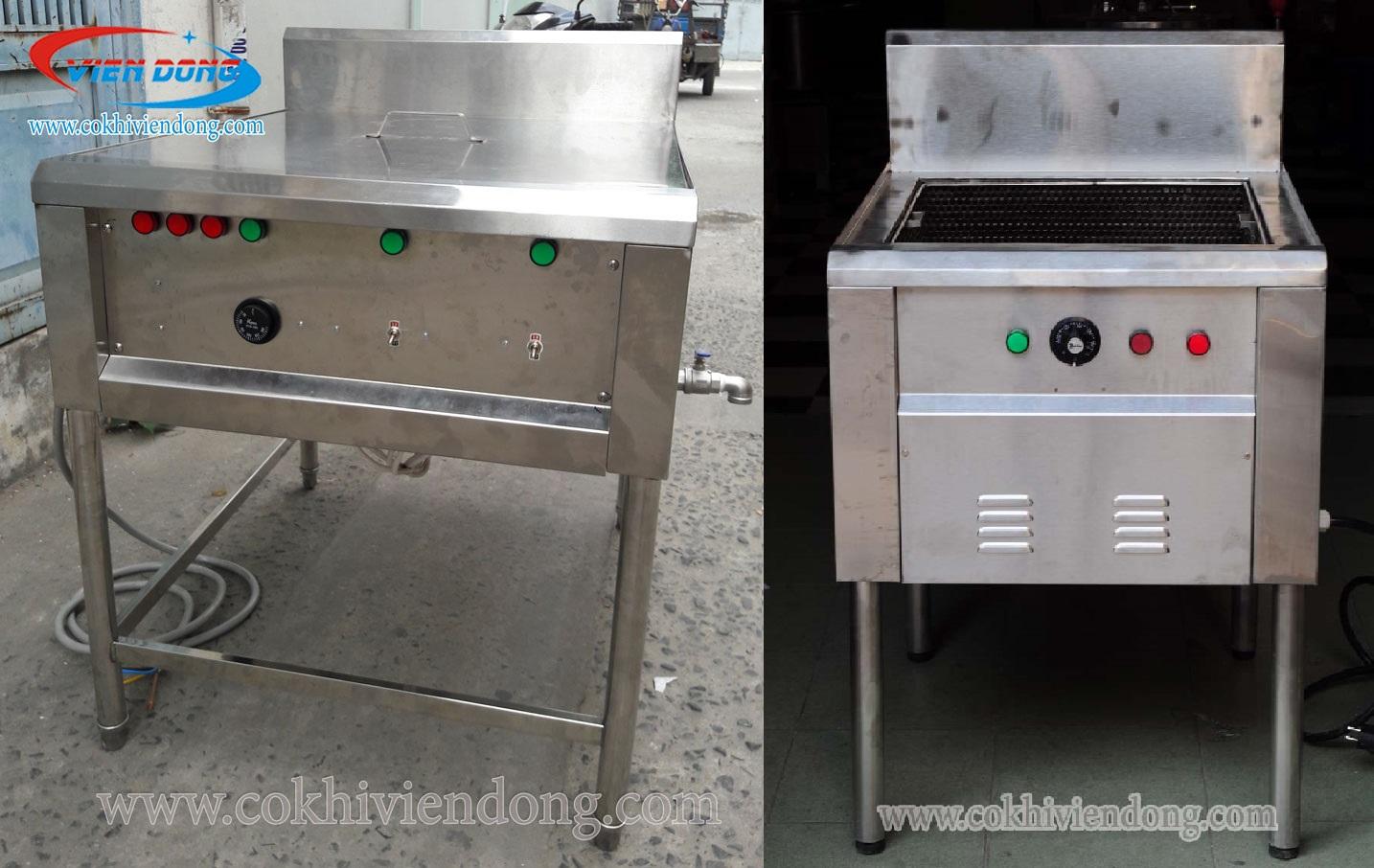 bếp chiên công nghiệp 50L
