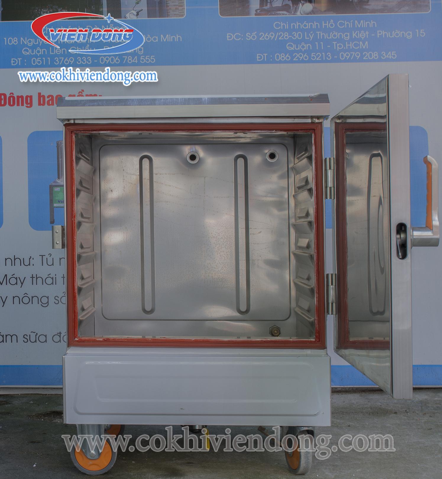 Tủ nấu cơm công nghiệp Việt Nam dùng gas 2