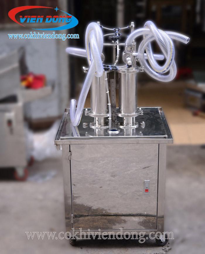máy chiết rót dung dịch mỹ phẩm vừa và nhỏ