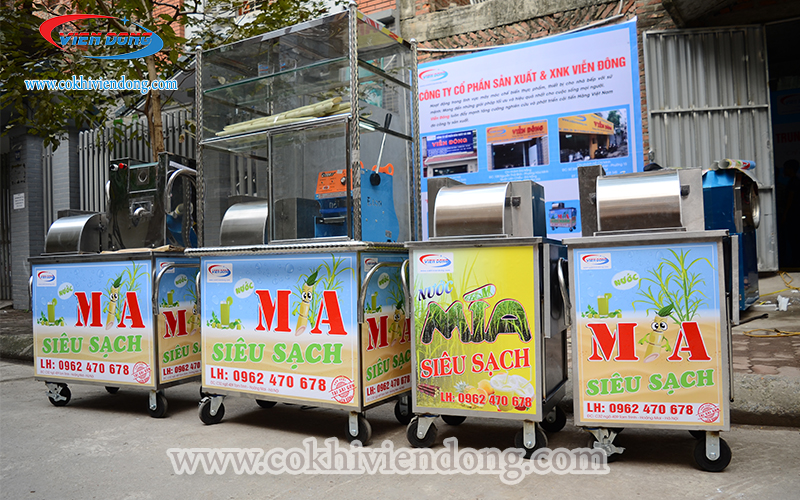 Giá bán máy ép nước mía siêu sạch Viễn Đông