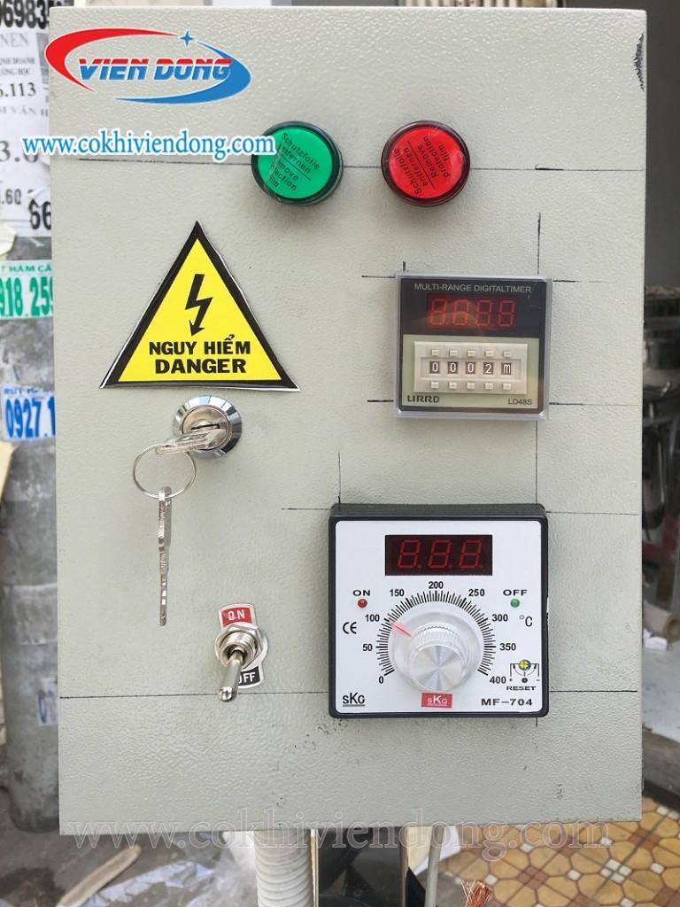 Bảng điện nồi nấu cháo công nghiệp