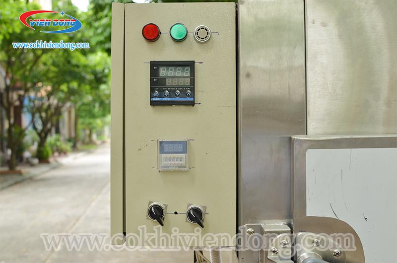 thiết kế hộp điện của lò sấy nông sản 12 khay