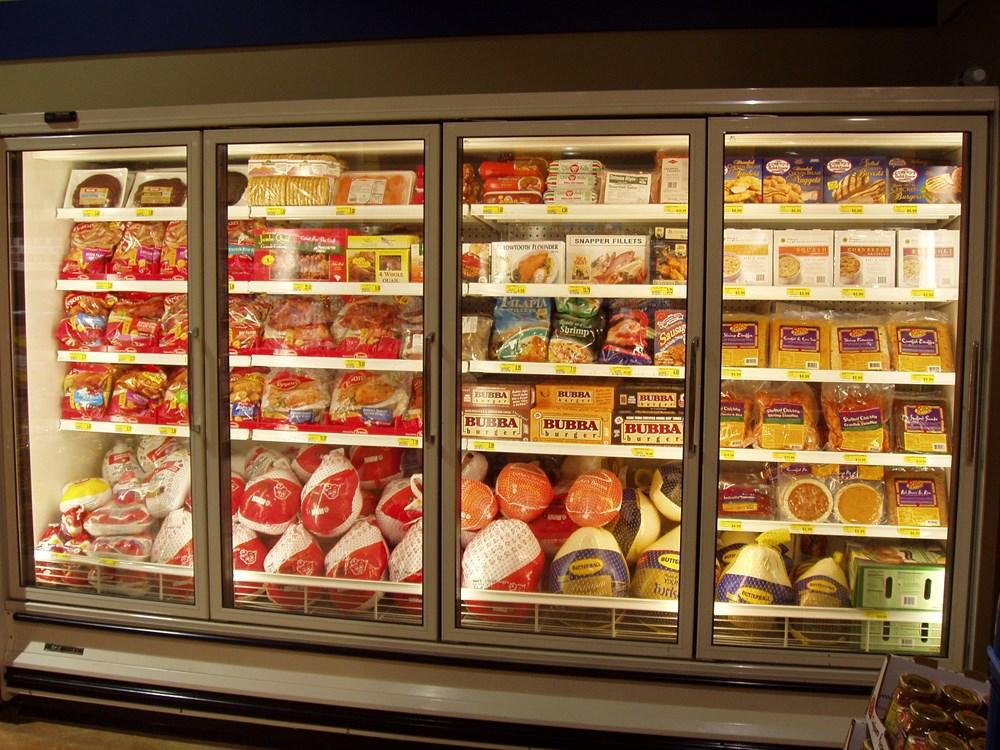 Kết quả hình ảnh cho tủ mát trưng bày trong siêu thị