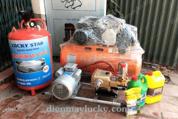 Bộ đồ rửa xe máy chuyên nghiệp gồm những gì?