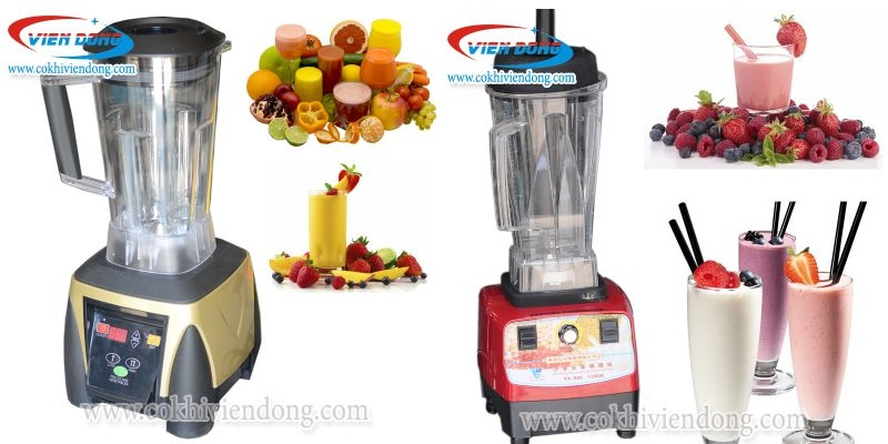 Chọn máy xay sinh tố công nghiệp nào tốt cho các quán giải khát, cà phê