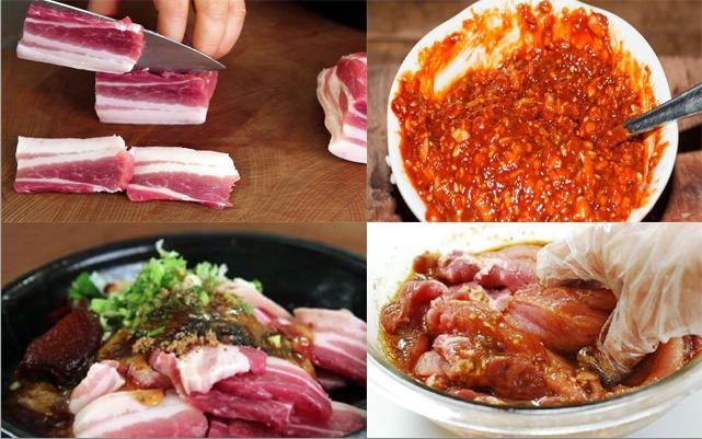 Tẩm ướp thịt nướng