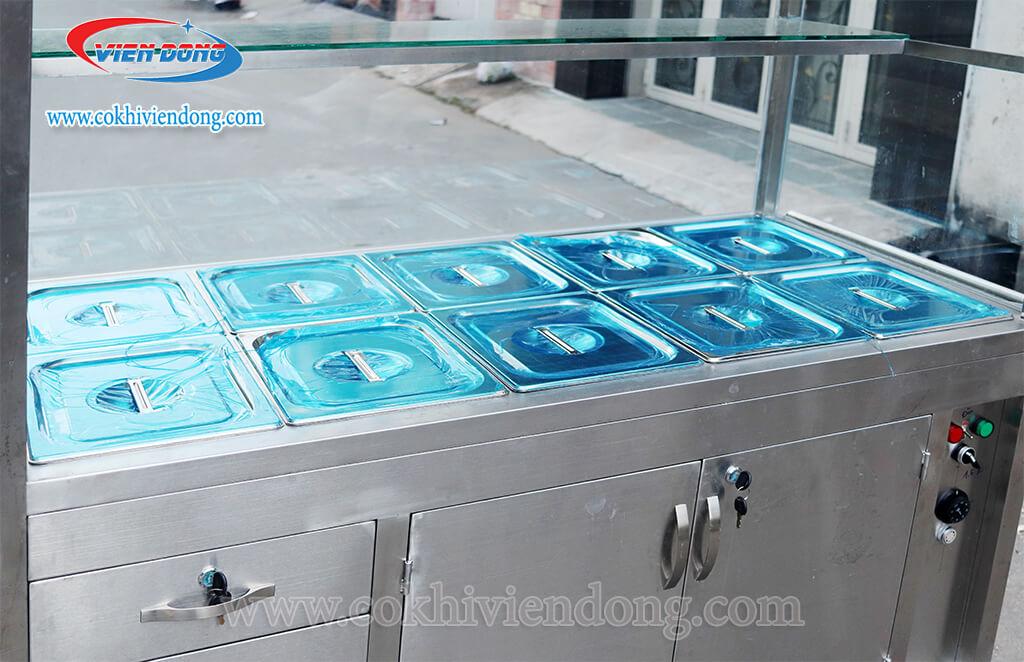 tủ giữ nóng thức ăn giá bao nhiêu
